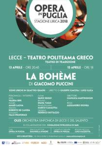 LA BOHEME @ Teatro Politeama Greco | Lecce | Puglia | Italia