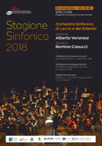 Stagione Sinfonica 2018 - Specchia @ Chiesa ex convento Francescani Neri   Specchia   Puglia   Italia