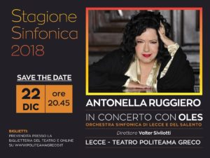 Antonella Ruggiero Lecce @ Teatro Politeama Greco   Lecce   Puglia   Italia