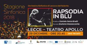 Rapsodia in Blu Lecce @ Teatro Apollo | Lecce | Puglia | Italia