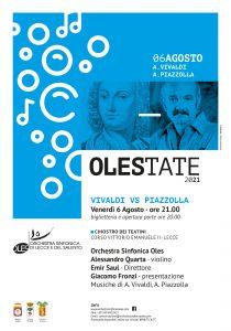 Vivaldi vs Piazzolla @ Chiostro dei Teatini | Lecce | Puglia | Italia