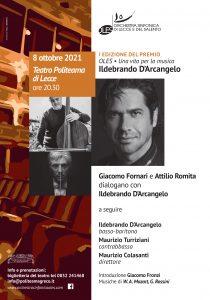 Premio Oles - Una vita per la Musica @ Teatro Politeama Greco | Lecce | Puglia | Italia